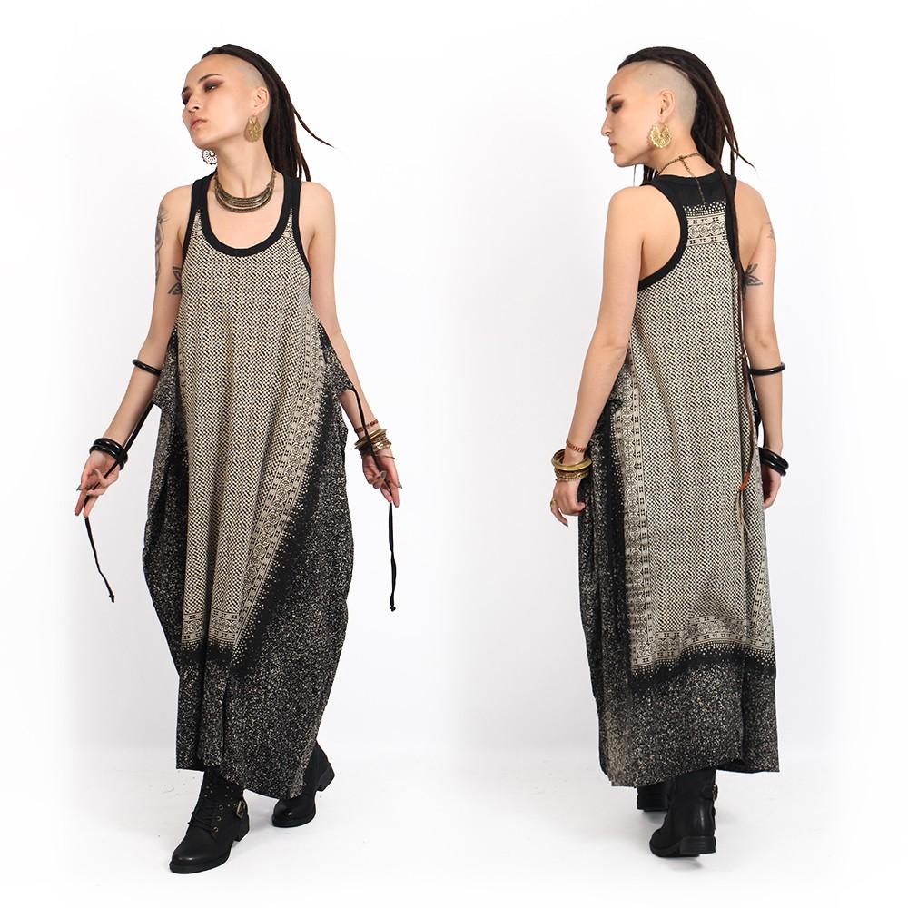 """Vestido \""""Shoulder Udaipur\"""", Negro"""