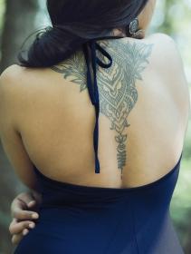 "Vestido \""Trisha\"", Azul oscuro"