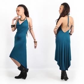 "Vestido \""Trisha\"", Azul petróleo"