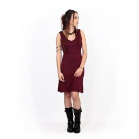"""Vestido \""""Winona\"""", Burdeos"""