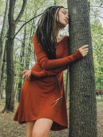 """Vestido de manga larga \""""Ysïaa\"""", Siena"""