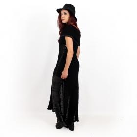 """Vestido de punto \""""Ply\"""", negro"""