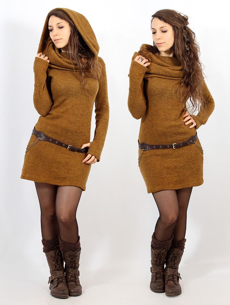 "Vestido suéter \""Mantra\"", Óxido"