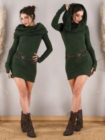 """Vestido suéter \""""Mantra\"""", Verde bosque"""