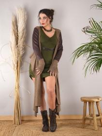 """Vestido suéter \""""Nikkäa\"""", Verde oliva"""