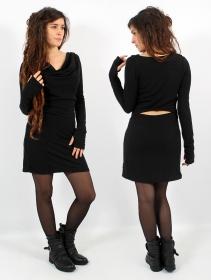 """Vestido suéter \""""Opäal\"""", Negro"""
