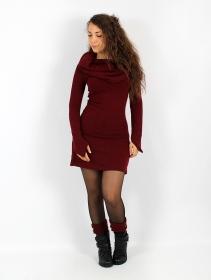 "Vestido suéter \""Shaë\"", Burdeos"