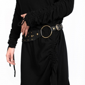 "Vestido túnica \""Baylo\"", Negro"