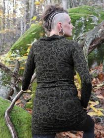 "Vestido túnica \""Loba Cosmic\"", Verde"