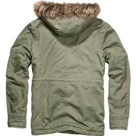 "\\\""Vintage Explorer\\\"" coat, Khaki"