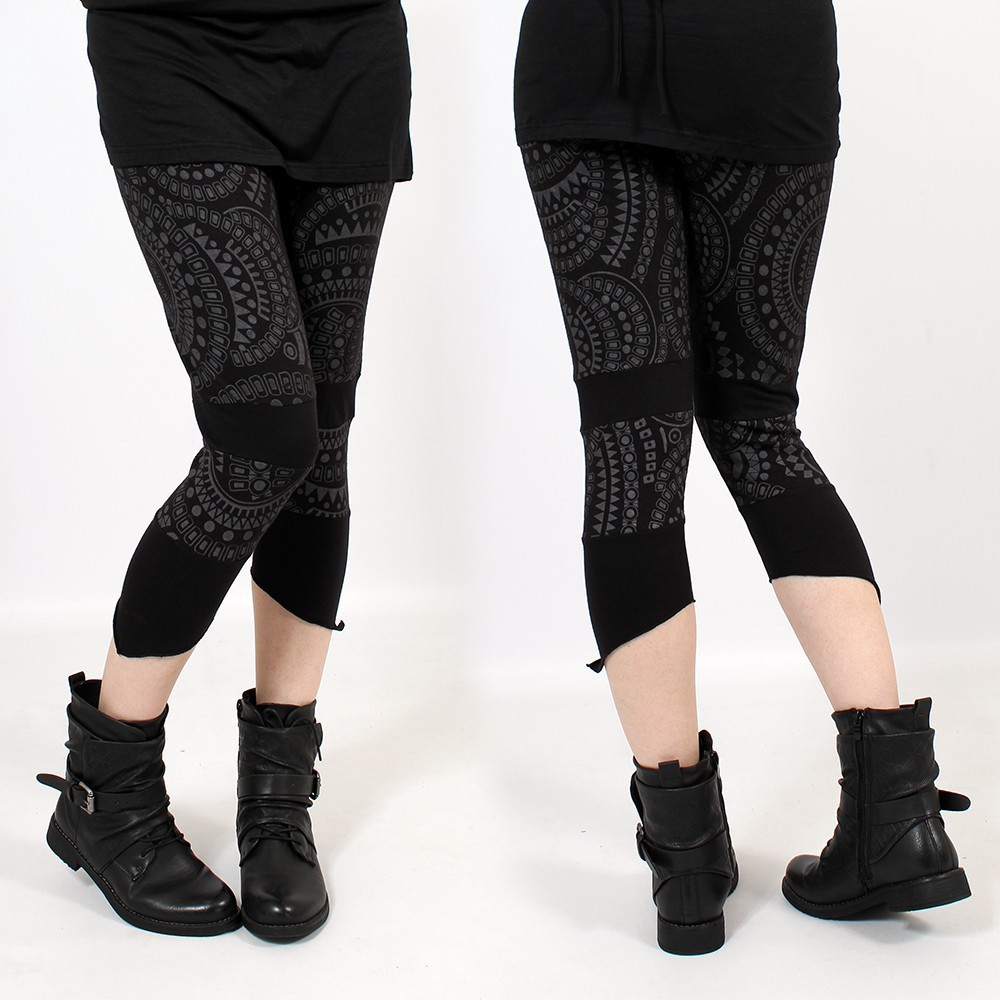 """Waan\"" 3/4 leggings, Black"