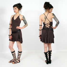 """Winai"" dress, Brown"