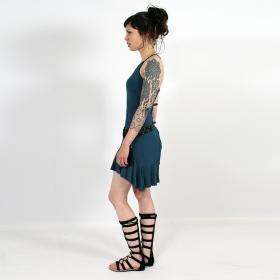 "\""Winai\"" dress, Teal"